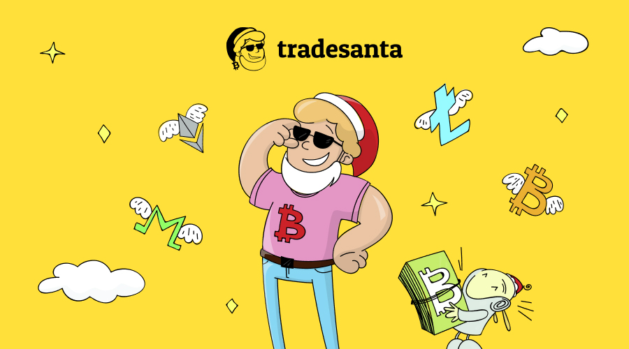 TradeSanta's bots make trading easy both for newbies and professional traders
